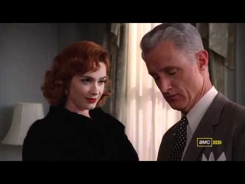 Christina Hendricks in Mink-Mad Men