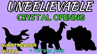 Unbelievable crystal opening video!