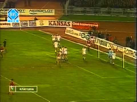 ЧМ по футболу 1986г. Отборочный матч  СССР - Дания