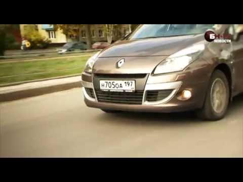 Тест-драйв нового Renault Scenic