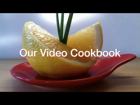 Lemon - Decoration | Technique #53 | Our Video Cookbook