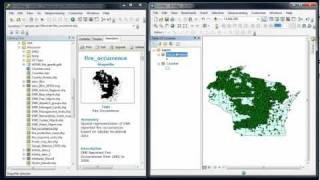 ArcCatalog - Searching data & adding data to ArcMap