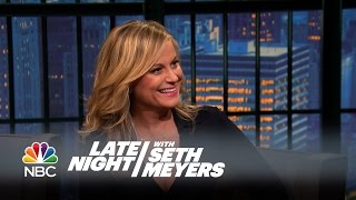 Amy Poehler Does Not Remember Meeting Seth - Late Night with Seth Meyers