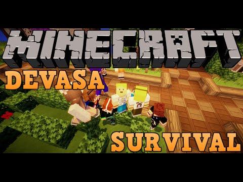 Devasa Survival - NoMercyMC - Tuzağa Düştüm! - Bölüm 3