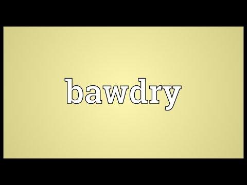 Header of bawdry