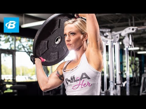 Shoulder-Transformer Workout | Amy Updike IFBB Bikini Pro