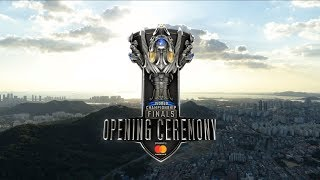 World championship 2018 Grand Final Opening Ceremony