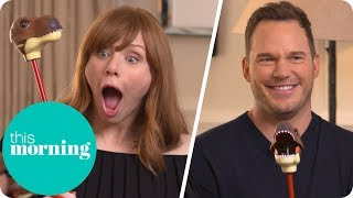 Chris Pratt Got So Many Injuries Filming Jurassic World: Fallen Kingdom | This Morning