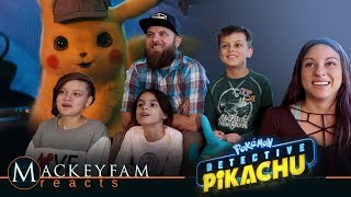 POKÉMON Detective Pikachu - Official Trailer #1- REACTION and REVIEW!!!