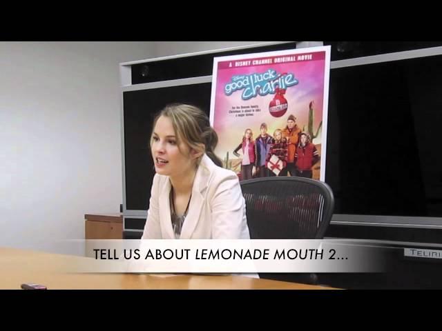 BRIDGIT MENDLER on Lemonade Mouth Sequel!