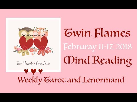 Twin Flames DIVINE MASCULINE MIND READING February 11-17, 2018