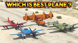 GTA 5 ONLINE : TULA VS ROGUE VS P-45 NOKOTA VS MOGUL (WHICH IS BEST PLANE?)