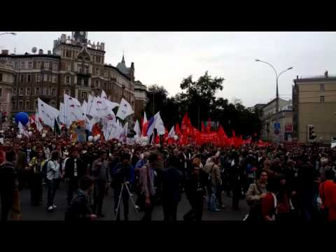 Moscow anti Putin rally(6)
