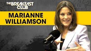 Marianne Williamson On Standing Tall In The 2020 Race, Love In Politics + Her New Book