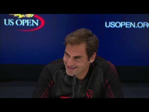 Adorable kid asks Roger Federer why he is nicknamed the 'GOAT'   ESPN