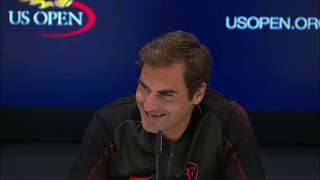 Adorable kid asks Roger Federer why he is nicknamed the