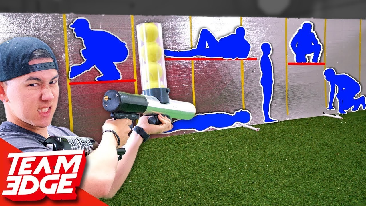 Shoot The Person Behind The GIANT Wall!!