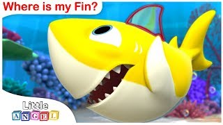 Baby Shark, Where is my Fin 3D? We are the Princesses, No No Healthy Habits and more by Little Angel
