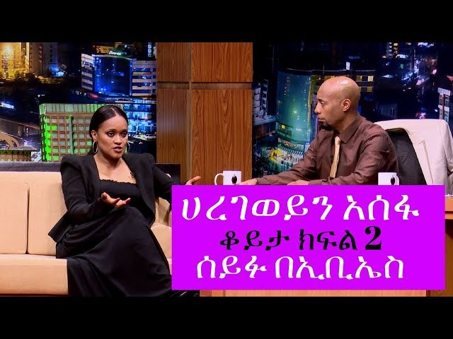 Seifu on EBS:  Interview With Artist Haregewein Assefa Part 2