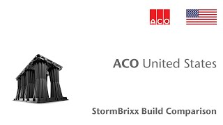 ACO StormBrixx Build Comparison