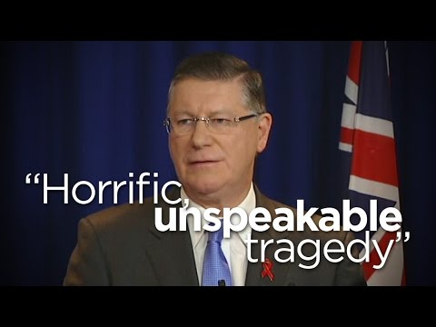 Napthine confirms nine Victorians lost in 'horrific, unspeakable tragedy' (MH17)