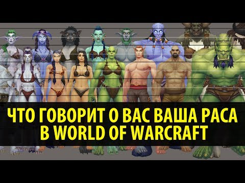 Что Говорит о Вас Ваша Раса в World of Warcraft?