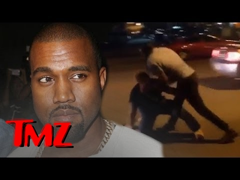 Viral Paparazzi Fight Video NOT Kanye West