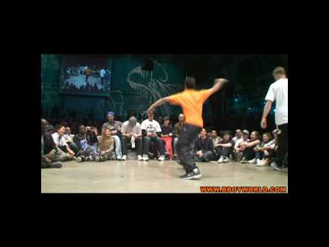 MOUNIR (VAGABONDS) vs JUST DO IT (RUGGED SOLUTIONS) @ HIP OPSESSION 6 WWW.BBOYWORLD.COM Video