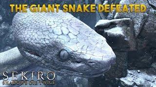 The Snake Is Finally Defeated! Sekiro: Shadows Die Twice