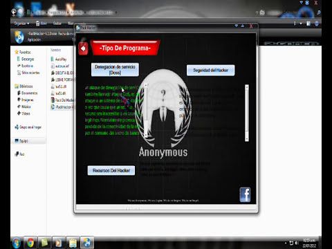 Programas Hackers , Somos Anonymous