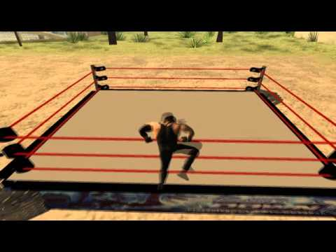 Mod GTA San Andreas - Ring WWE v1