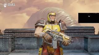Cypher vs Nitrino (Quake Champions)
