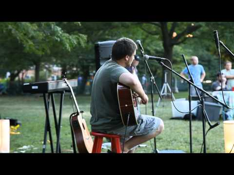 Me playing at an open mic in wicker park, chicago 6/23/2012