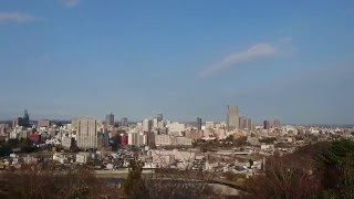 Sendai City View from Aoba Castle