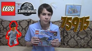 "Обзор LEGO Jurassic World 75915 ""Захват Птеранодона"""