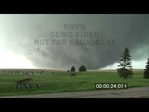 5/22/2010 Bowdle, SD Wedge Tornado Video