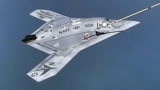 X-47B Unmanned Combat Air Vehicle • 1st Inflight Refueling