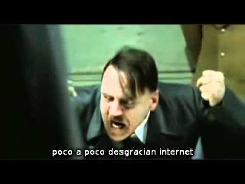Hitler se entera que el FBI cerr MegaUpload (original)