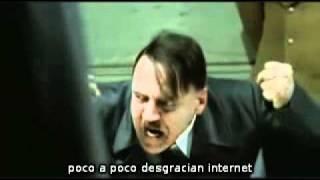 Hitler se entera que el FBI cerró Megaupload