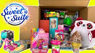HUGE TOY BOX OPENING Sweet Suite 2019 Swag Box From The Toy Insider W/ Games + New Toys - Toy Videos