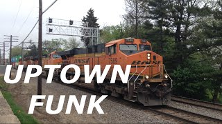 """Uptown Funk"" - Train/Railfanning Music Video - ft. Traingeek24 & Trainman122"