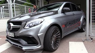 680HP HAMANN Mercedes-AMG GLE63 S - Start, Revs & Accelerations!