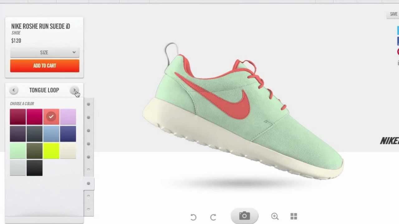 Roshe Run id on Nike id Customize Roshe