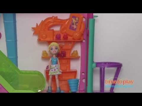 Polly Pocket Wall Party Mall on the Wall from Mattel