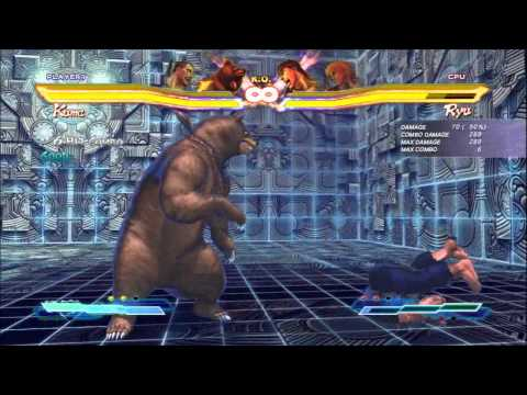 SFxT Practical Cross Rush/Tag Finishers: Heihachi, Kuma, Nina