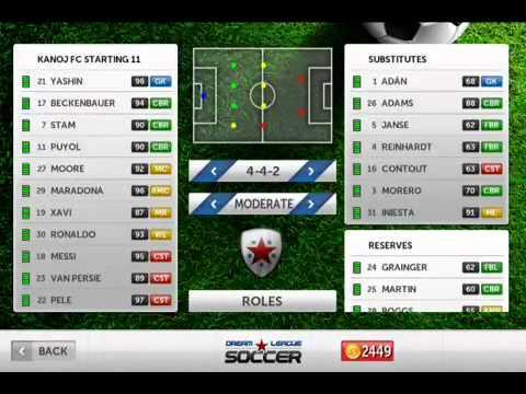 Dream League Soccer Ronaldinho my Dream League Soccer Squad