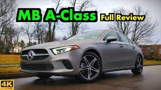 2019 Mercedes A-Class Sedan: FULL REVIEW + DRIVE | The Smallest Benz is a Tech Giant!