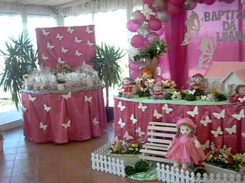 Decoração da festa borboleta / bonecas