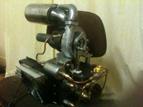 How to Build a Jet Engine Part 1. Home made Gas Turbine Jet engine tips and tricks