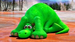 Learn Colors With ARLO THE GOOD DINOSAUR Funny Momment Videos #9 - Learning Video for Kids